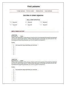 cv format download blank 7 free blank cv resume templates for download free cv