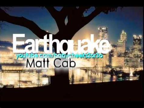 earthquake the used lyrics matt cab earthquake lyrics letssingit lyrics