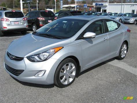 Silver Hyundai by Hyundai Elantra 2012 Silver