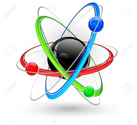 Atom Model Vector Clipart atom nucleus clipart clipground