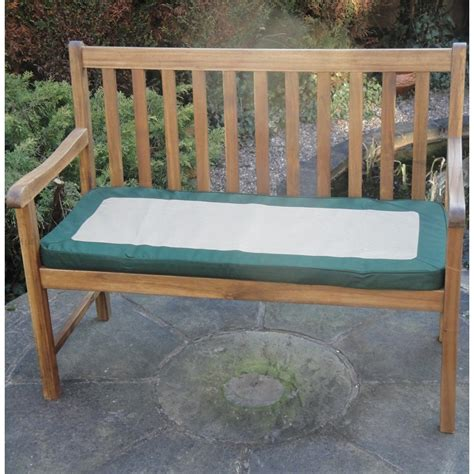 garden bench cushions 2 seater garden 2 seater cushion green the garden factory