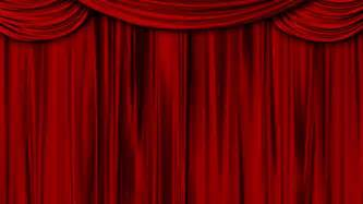 high definition clip of an opening red stage curtain animated mask for easy composition added