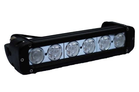 11 Quot 11 Inch Led Light Bar 6 10 Watt Cree Led Bulbs 6 Led Light Bar