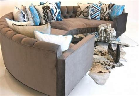 couch shoo service 11 round sofas in midcentury or postmodern style retro