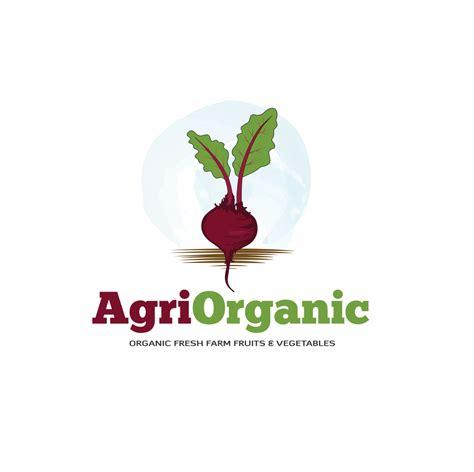 organic farm products logo design ananta creative