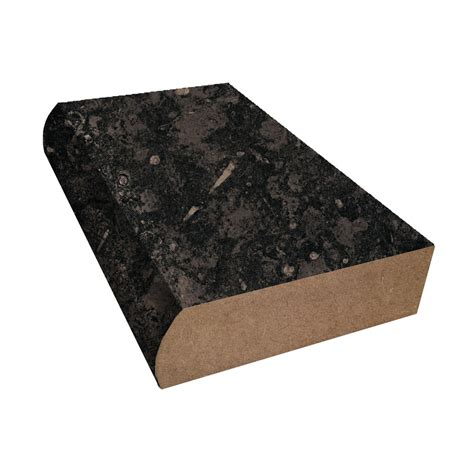 Black Laminate Countertop by Bevel Edge Countertop Trim Formica Black Fossilstone 3461