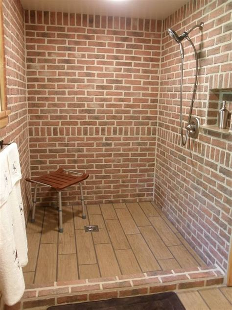 brick wall tiles bathroom bathrooms inglenook brick tiles thin brick flooring