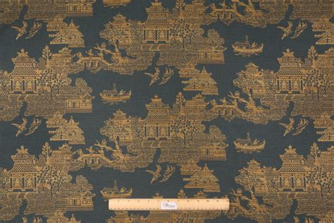 Cove Upholstery by 10 Yards Robert Allen Geisha Tapestry Upholstery