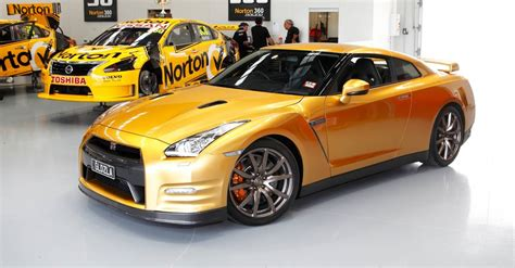 gold nissan car nissan cars gold gt r usain bolt edition