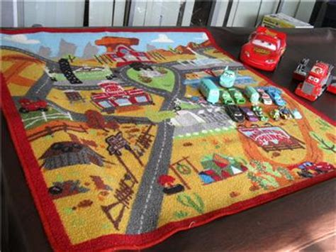 truck play rug lot 13 disney pixar cars play rug mack truck playset rusteze moving ebay