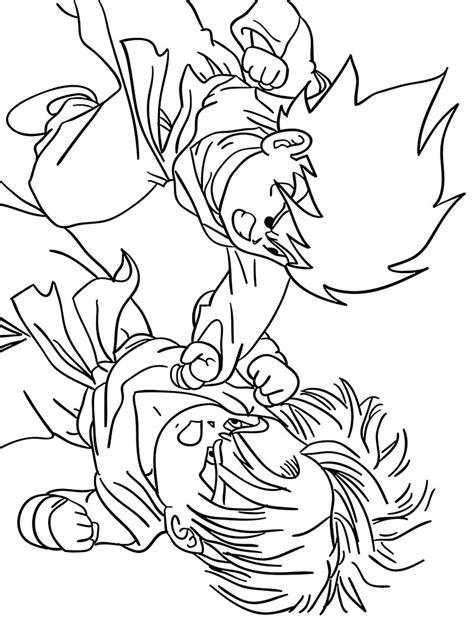 dragon ball z christmas coloring pages dragon ball z coloring pages download and print dragon