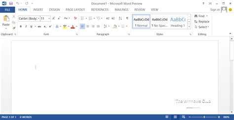 Microsoft Word 2013 New Features In Microsoft Office 2013 Screenshots Included