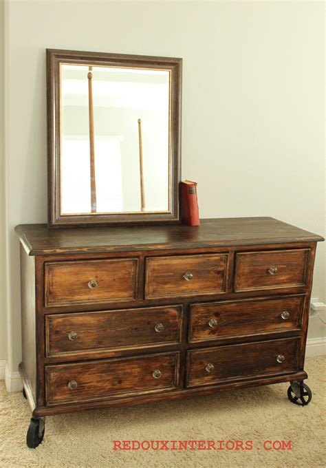 Dresser Ind by Trashy Tuesday Country Style Dresser Turned Industrial Chic