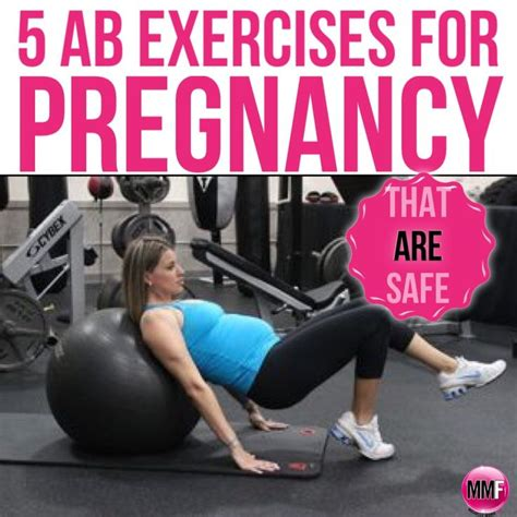 5 ab exercises for pregnancy exercises back and