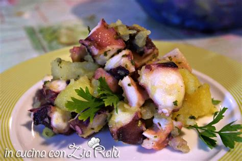 cucinare polpo con patate insalata polpi e patate in cucina con zia ral 249