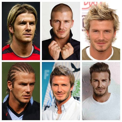 david beckham s timeline a history of beckham hairstyles history hair
