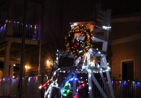 ocean city christmas lights some holiday lights you won t find in north ocean city s