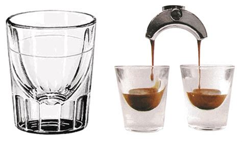 ounces in shot of espresso 2 ounce shot glass