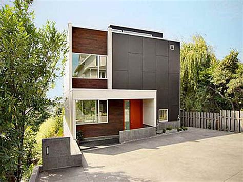 bloombety small contemporary house plans witn wooden
