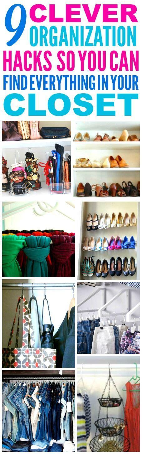 closet organization hacks best 25 small closets ideas on pinterest closet storage