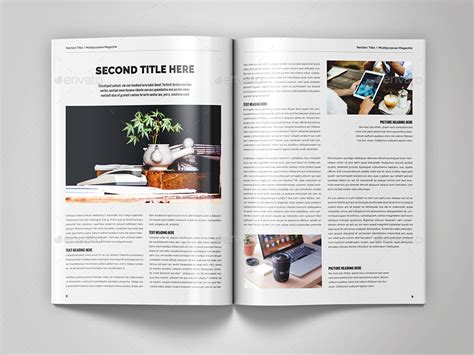 design journal ranking multipurpose magazine template by northgraphics graphicriver