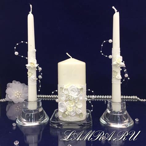 Подставки для свадебной свечи своими руками