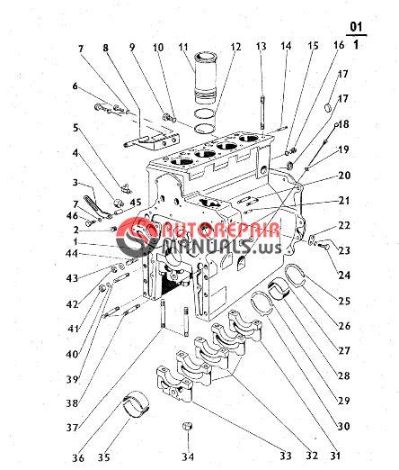 Zetor Tractor 5211 5245 6211 6245 7211 7245 7245h 7711