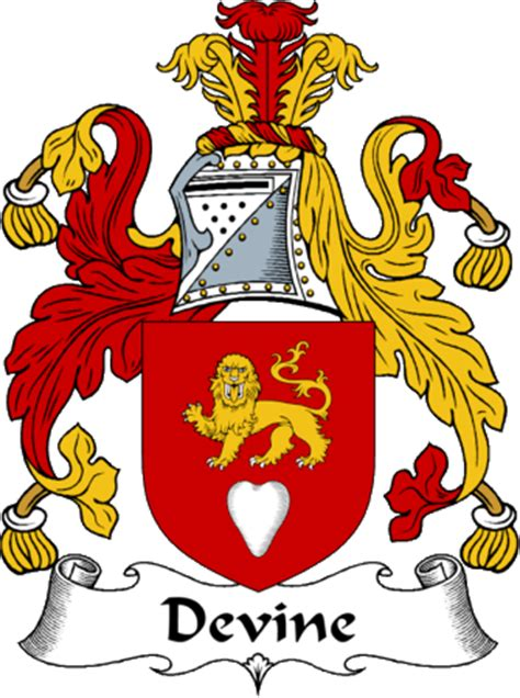 irishgathering the devine clan coat of arms (family