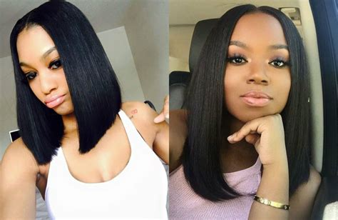 black women middle part bob hairstyles 2017 blackhairlab com women short hair wigs hot girls wallpaper