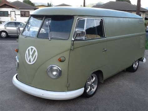auto upholstery honolulu sell new 1961 vw panel bus rebuilt motor new paint new