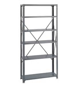 safco heavy duty commercial steel shelving unit