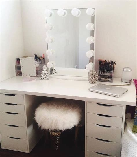 vanity desk with mirror ikea 17 best ideas about vanity desk on makeup