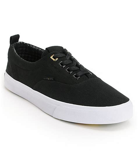 project canvas primary black canvas skate shoes