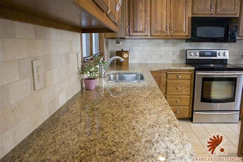 Kitchen And Granite Studio Giallo Ornamental Granite Kitchen Studio