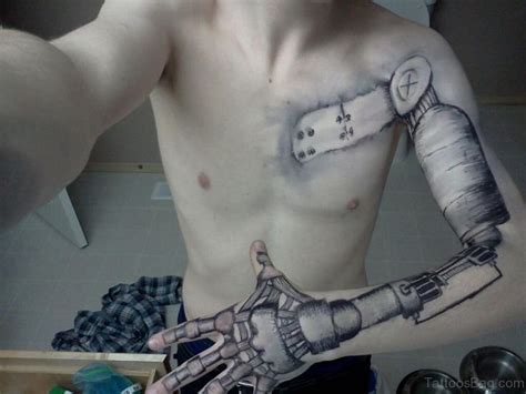 robot sleeve tattoo designs 64 stylish sleeve tattoos