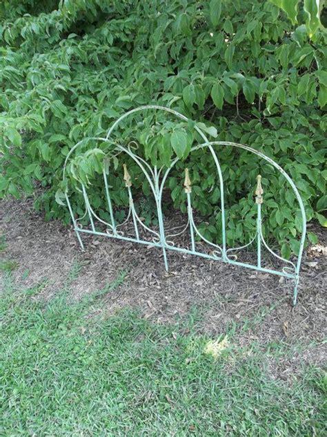 Garden Accents Metal Landscape Edging Metal Garden Edging Photograph Vintage Wrought Iron Gate G
