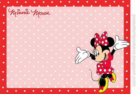 imagenes placas rojas minnie in red and polka dots free printable party kit
