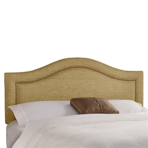 headboard with buttons skyline furniture full inset nail button headboard in