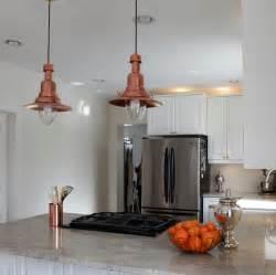 Ikea hack how to turn an ottava light into a copper barn pendant