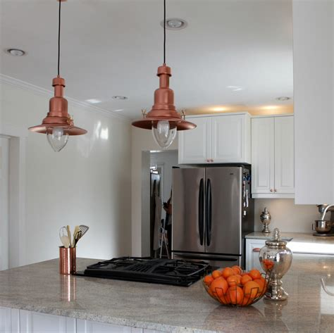 Ikea Lighting Kitchen Copper Barn Light Ikea Hack