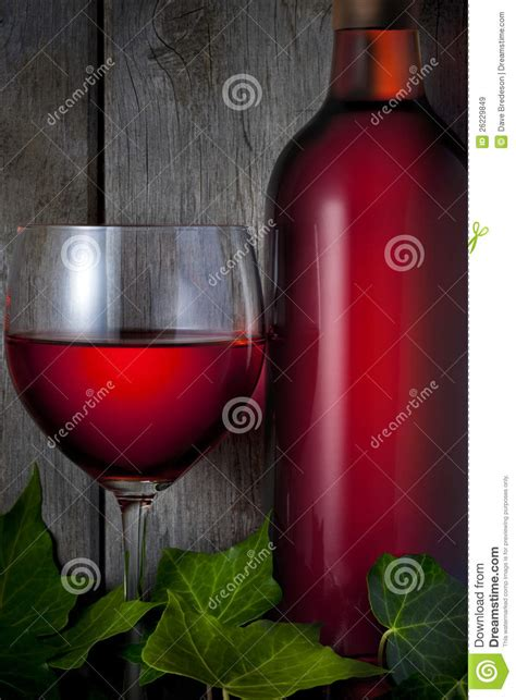 red bottle red wine bottle glass stock photography cartoondealer