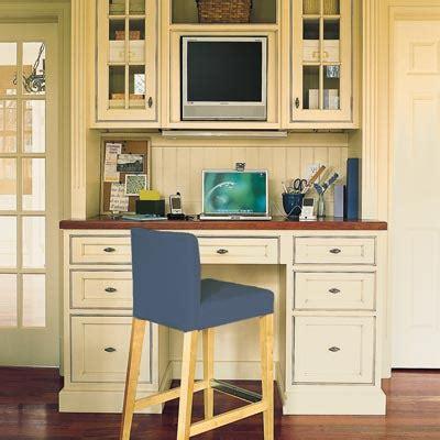 computer desk in kitchen built in kitchen computer desk
