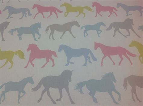 horse fabric for curtains clarke and clarke stede horses cotton fabric for
