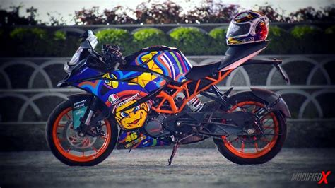 Bettdecke 200 X 200 by Modified Ktm Rc200 Green Viper From Kerala Modifiedx