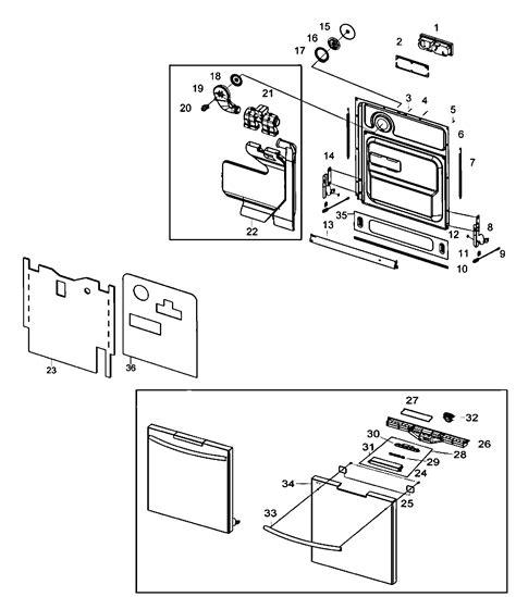 samsung dishwasher parts model dmt800rhsxaa sears partsdirect