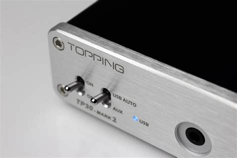 Topping Tp30 Mark2 Digital Lifier Ta2024 With Dac And Headphone topping tp30 mark2 digital lifier ta2024 with dac and headphone silver