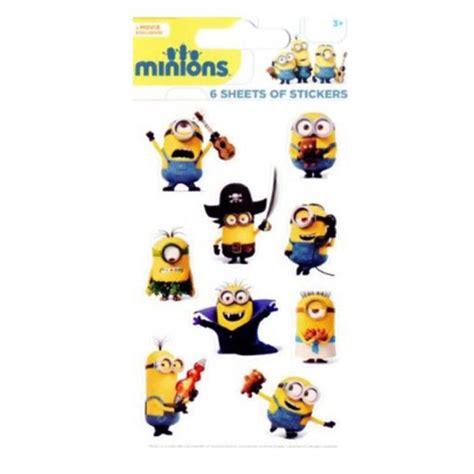 Minions Aufkleber Kaufen by Minions Aufkleber Packungen Sortiert Ebay
