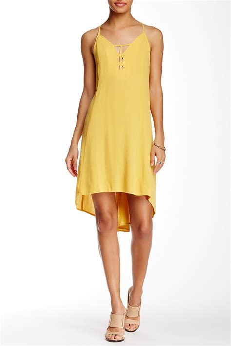 lo swing lush multi hi lo swing dress nordstrom rack
