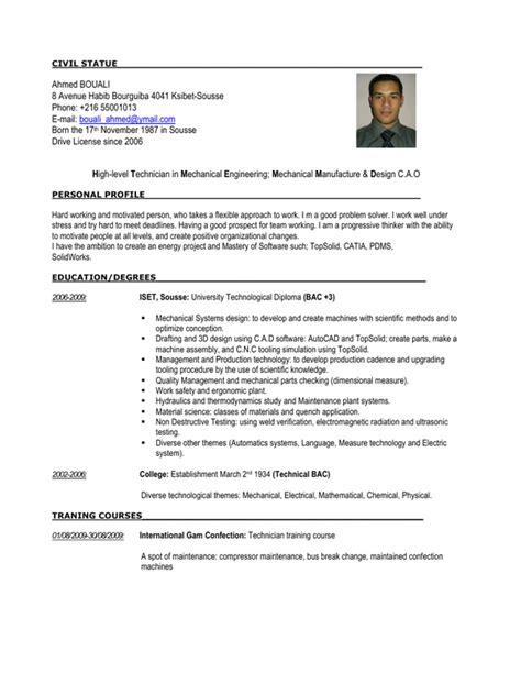 mechanical quality engineer resume pdf 28 images 10
