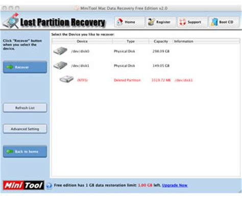 Minitool Mac Data Recovery 3 descargar gratis minitool mac data recovery 3 0 mac os